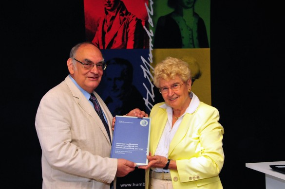 Herr Dr. Ingo Schwarz und Frau Prof. Dr. Dagmar Hülsenberg