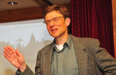 Dieter Blase vom Büro Topos